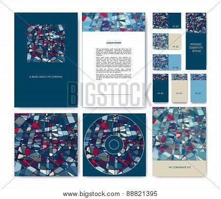 Vector Mosaic Identity Set
