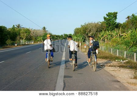 Asian Pupil Ride Bicycle
