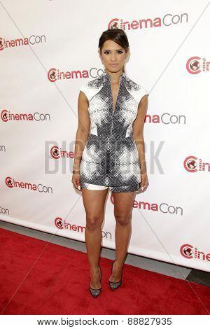 LAS VEGAS - APR 23: Rocsi Diaz at the Twentieth Century Fox 2015 Presentation at Cinemacon at Caesars Palace on April 23, 2015 in Las Vegas, NV