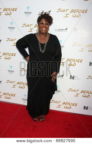 LOS ANGELES - FEB 20:  Cleo King at the