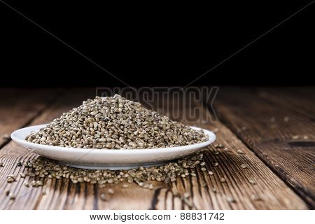 Some Hemp Seeds
