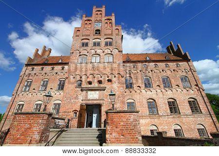 beautiful castle Egeskov, Denmark