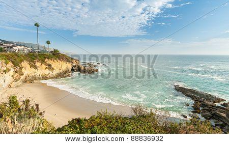 Beach At Laguna Beach, California