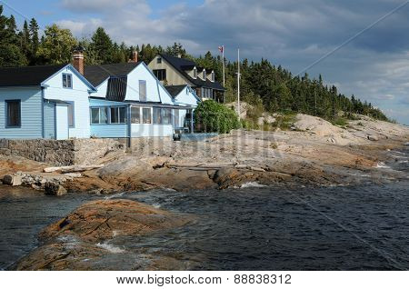 Quebec, The Picturesque Village Of Tadoussac