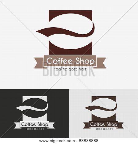 Coffee shop logo.