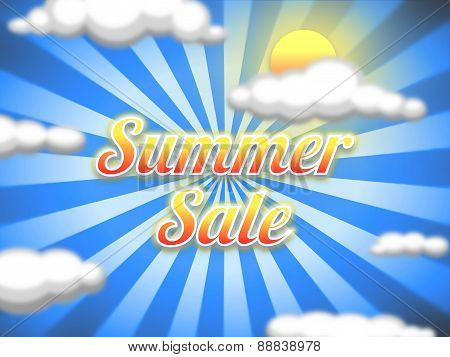 Summer Sale Illustration