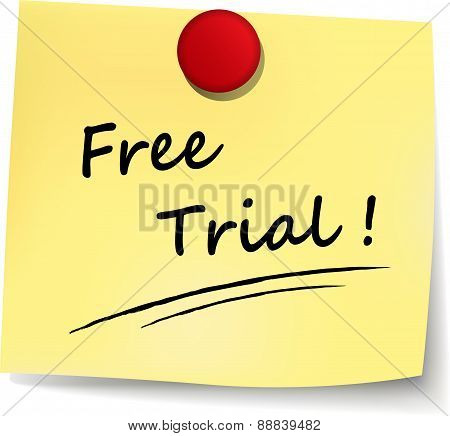 Free Trial Note