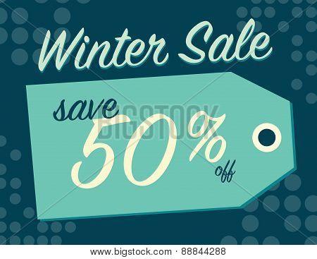 Winter Sale Sign