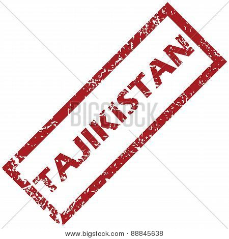 New Tajikistan rubber stamp