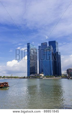 Marina Bay Financial Centre In Singapore