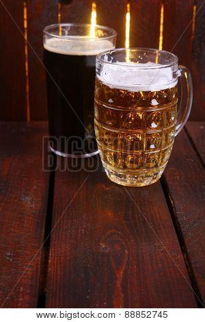 Mug And Pint Of Beer