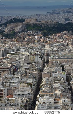 City Buildings in Athens