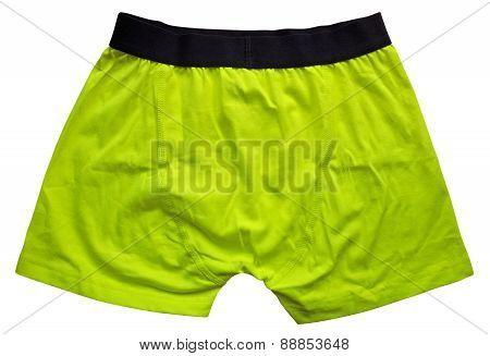 Male Underwear - Yellow