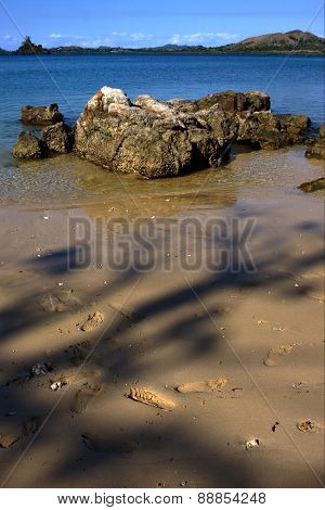 Footstep In Kisimamy Bay