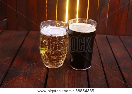Mug And Pint Of Beer