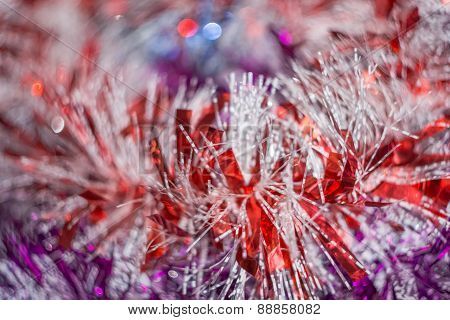 Colorful Tinsel