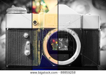 Grunge Old Camera