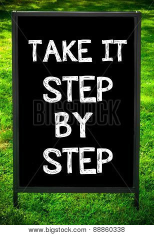Take It Step By Step