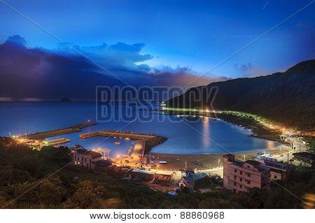 Sunrise Fishing Village, Taiwan