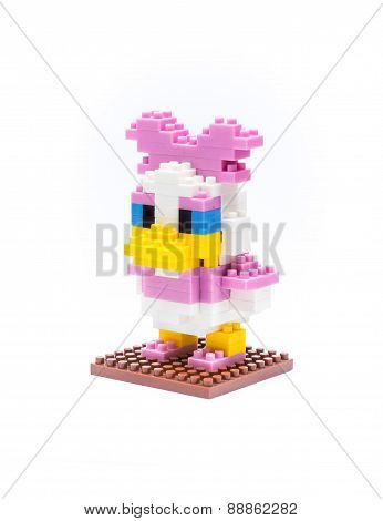 Disney's Donald duck 3D Nano Block