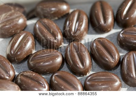 Pralines At The Coffe