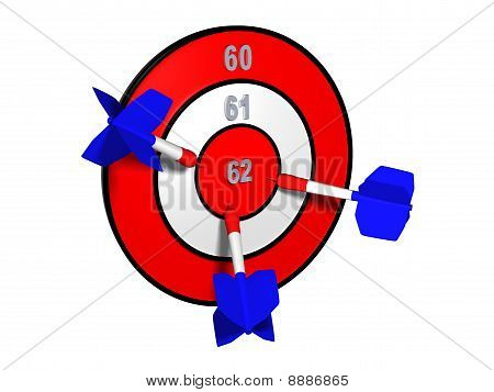 Target with different retirement numbers