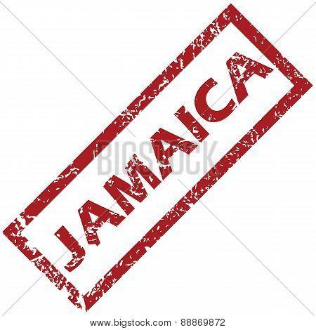 New Jamaica rubber stamp