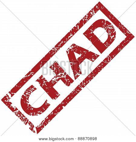 New Chad rubber stamp