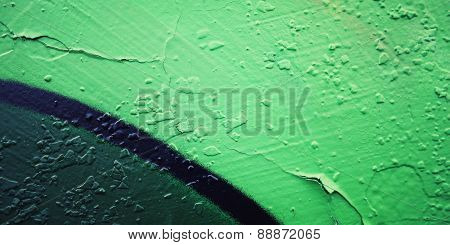 Frame For Text. Graffiti Closeup - Retro Photo
