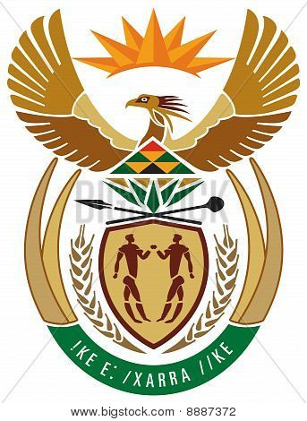 South Africa Coat Or Arms