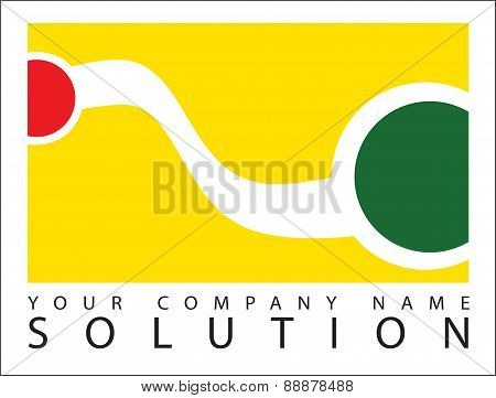 Icon Logo Business Text Your Company Name Concept