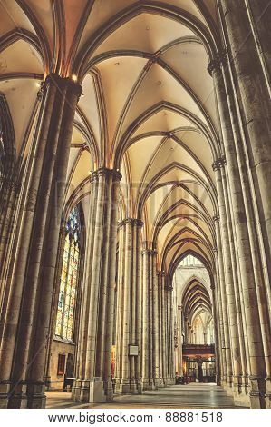 Cathedral of Cologne interiors