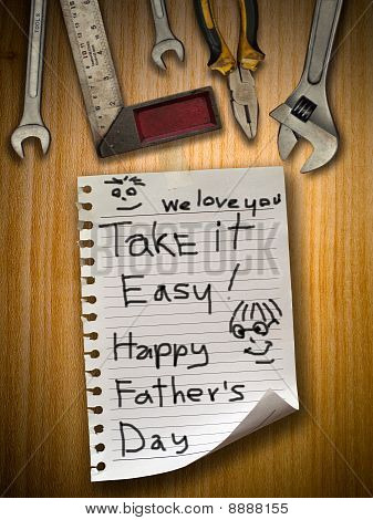 Father Day Sign