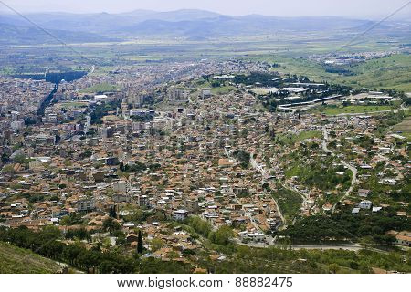 Birds Eye View Of The Bergama