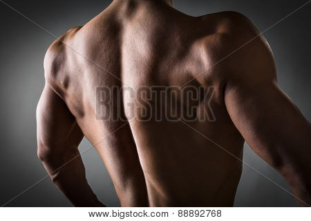 Back Of Athlete