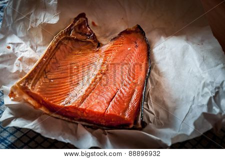 Smoked Salmon From Kamchatka