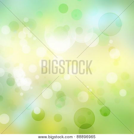 Abstract yellow and green tone background