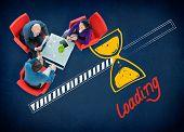 image of transfer  - Loading Data Information Transfer Digital Internet Concept - JPG