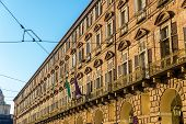 foto of turin  - View of Turin government offices  - JPG