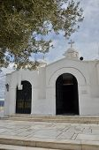 pic of chapels  - An external view of a small hilltop chapel in the city of Athens - JPG