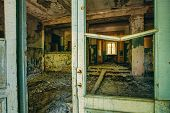 pic of abandoned house  - Abandoned House Interior In Chernobyl - JPG