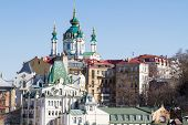 picture of kiev  - Holy Cross Church in Kiev  - JPG