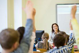 foto of classroom  - education - JPG