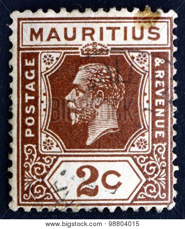 Postage Stamp Mauritius 1921 King George V
