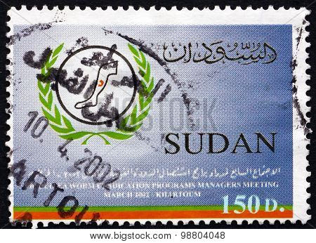 Postage Stamp Sudan 2002 Guinea Worm Eradication Campaign