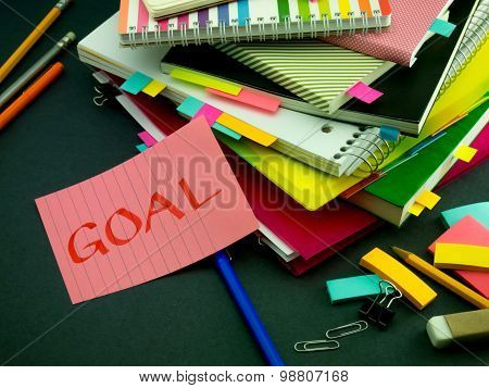 Somebody Left The Message On Your Working Desk; Goal