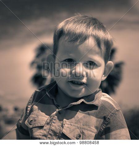 Child Boy Smiling