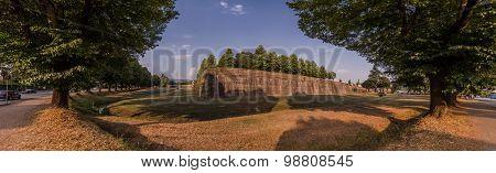 Ancient Walls Of Lucca