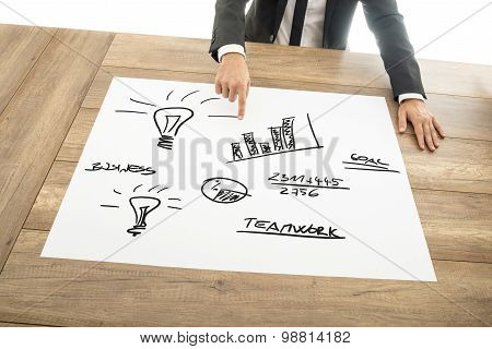 Teamwork Concept In Business