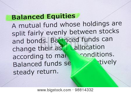 Balanced Equities